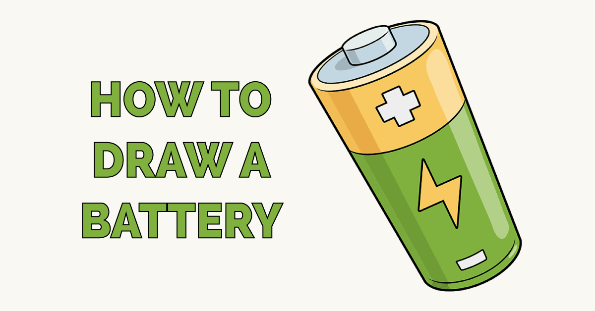 How to Draw a Battery Featured Image