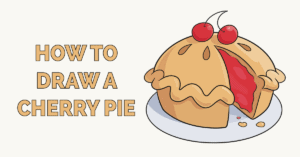 How to Draw a Cherry Pie Featured Image