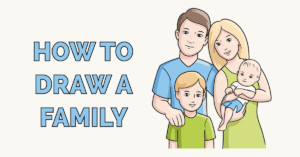 How to Draw a Family Featured Image