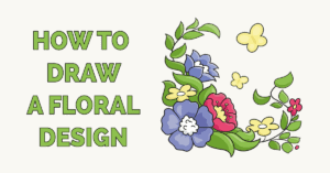 How to Draw a Floral Design Featured Image