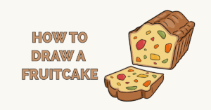 How to Draw a Fruitcake Featured Image