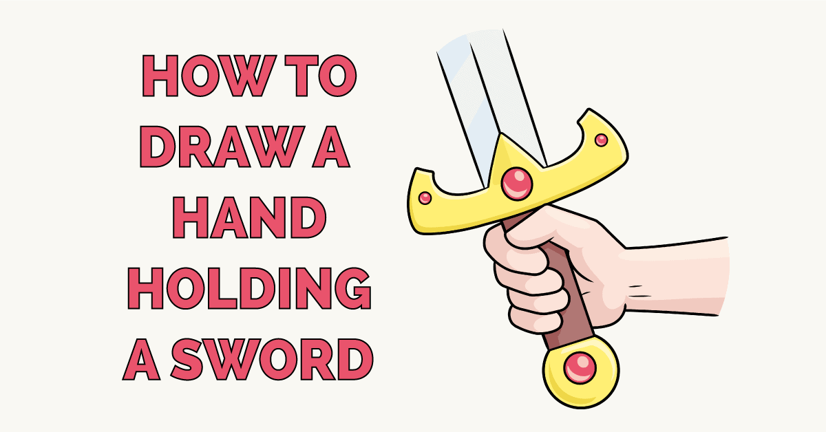 How to Draw a Hand Holding a Sword Featured Image
