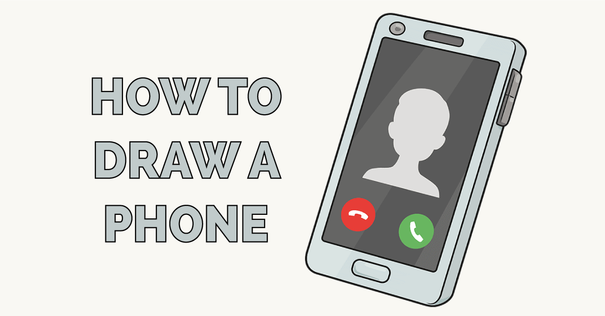 How to Draw a Phone Featured Image