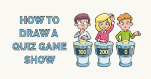 How to Draw a Quiz Game Show Featured Image