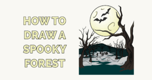 How to Draw a Spooky Forest Featured Image