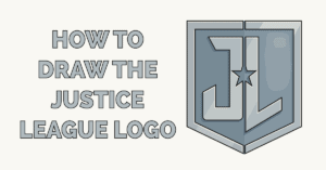 How to Draw the Justice League Logo Featured Image