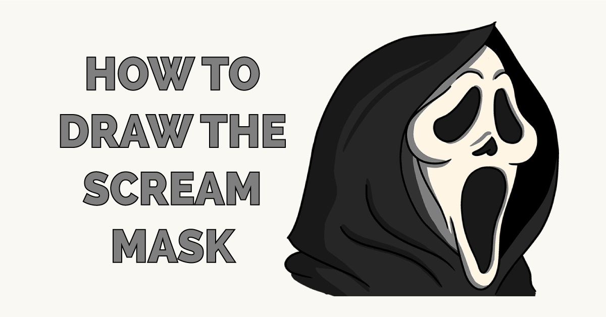 How to Draw the Scream Mask Featured Image