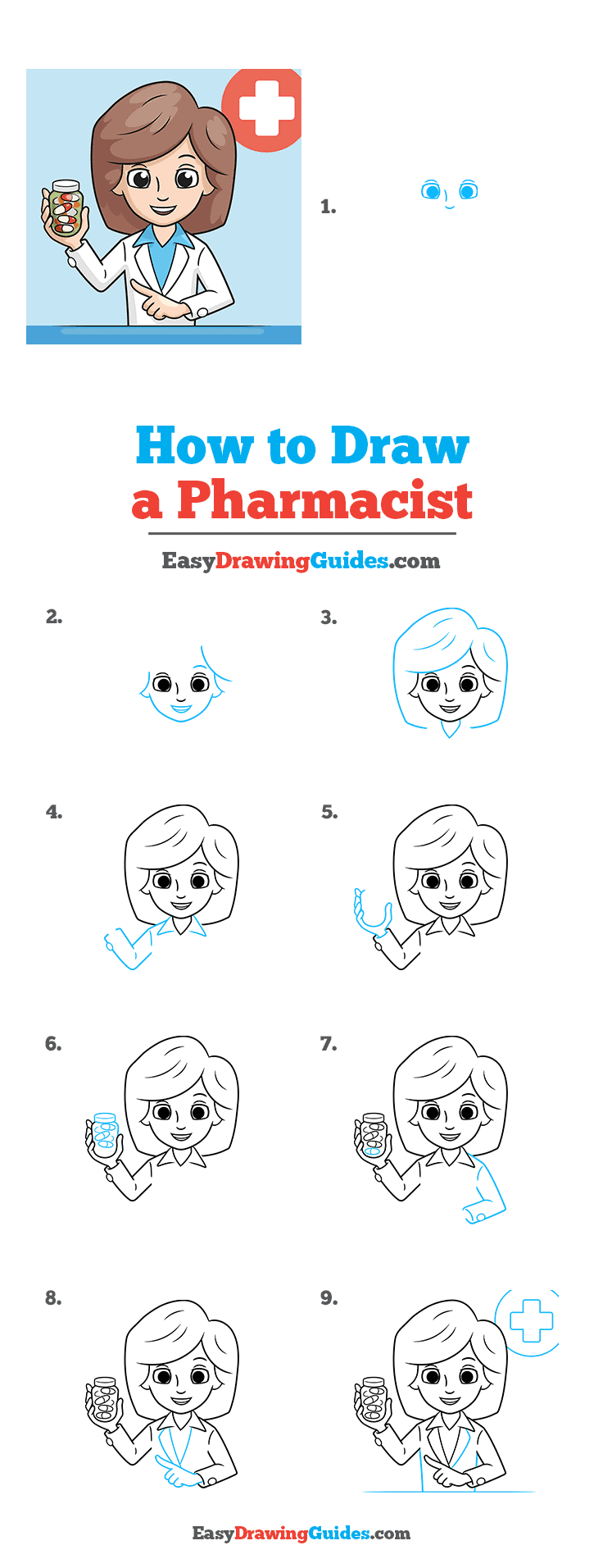 How to Draw Pharmacist