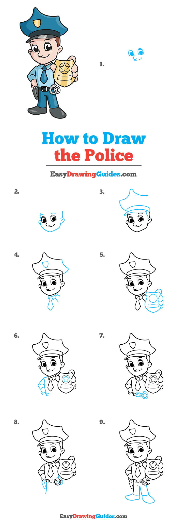 How to Draw Police