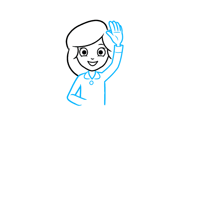 How to Draw a Quiz Game Show Step 02