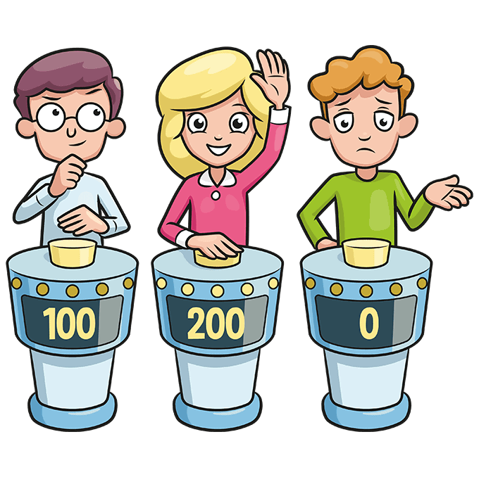 How to Draw a Quiz Game Show Step 10