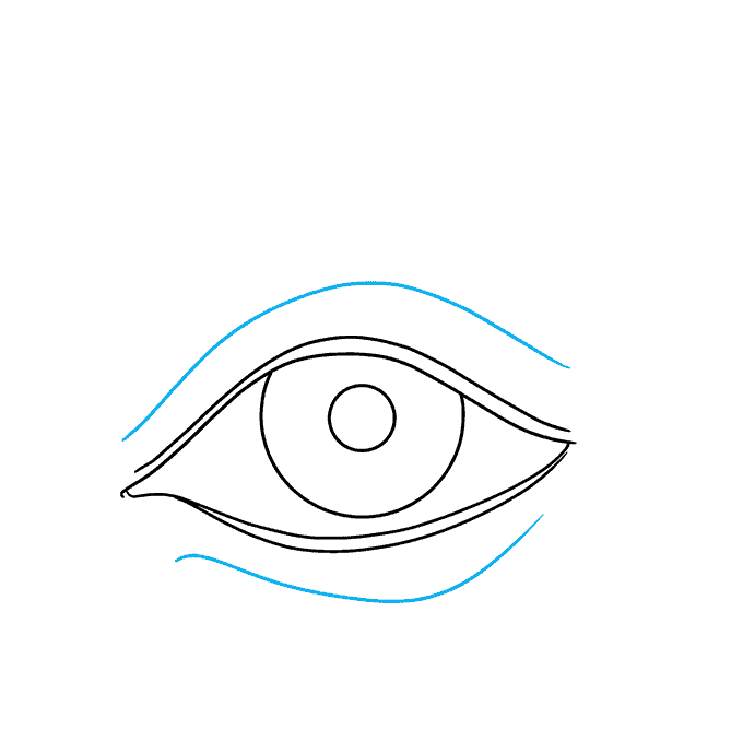 How to Draw a Realistic Eye for Beginners Step 04