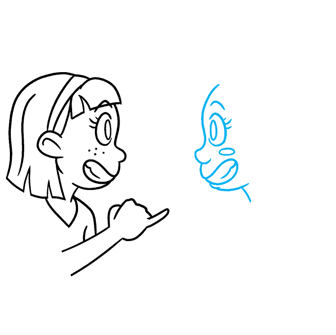 How to Draw Best Friends: Step 5