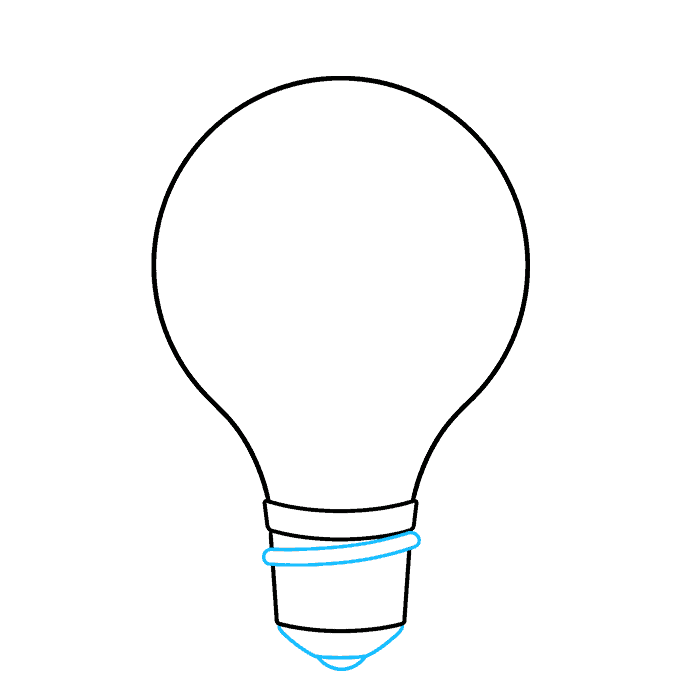 How to Draw an Earth Hour Illustration Step 03