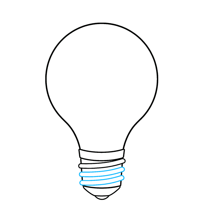 How to Draw an Earth Hour Illustration Step 04