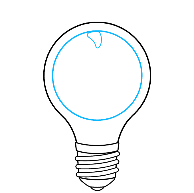 How to Draw an Earth Hour Illustration Step 05