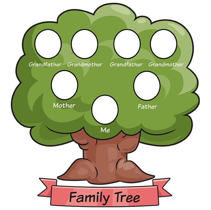 how to Draw a Family Tree Step 10