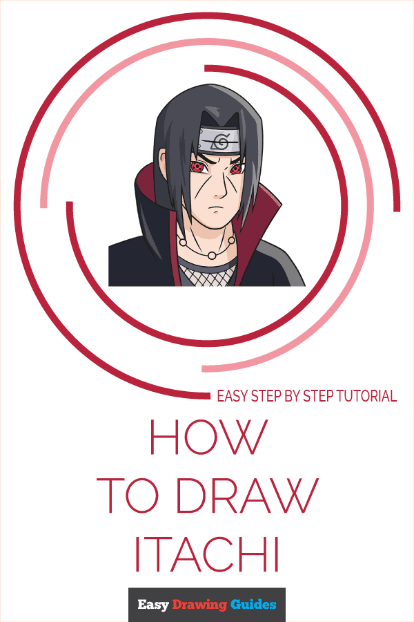 How to Draw Itachi | Share to Pinterest
