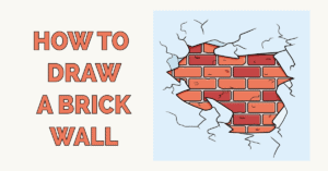 How to Draw a Brick Wall Featured Image