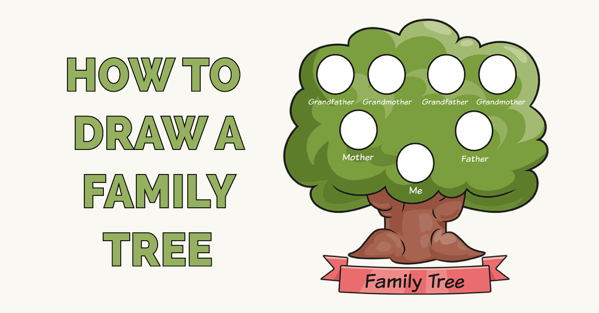 how to Draw a Family Tree Featured Image