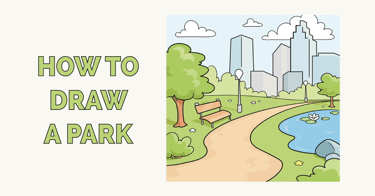 How to Draw a Park Featured Image