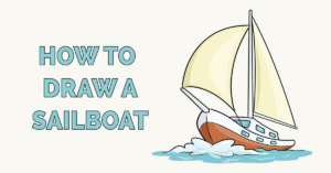 How to Draw a Sailboat Featured Image