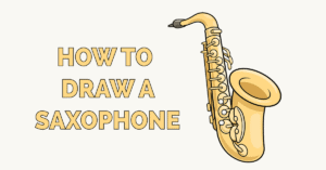 How to Draw a Saxophone Featured Image