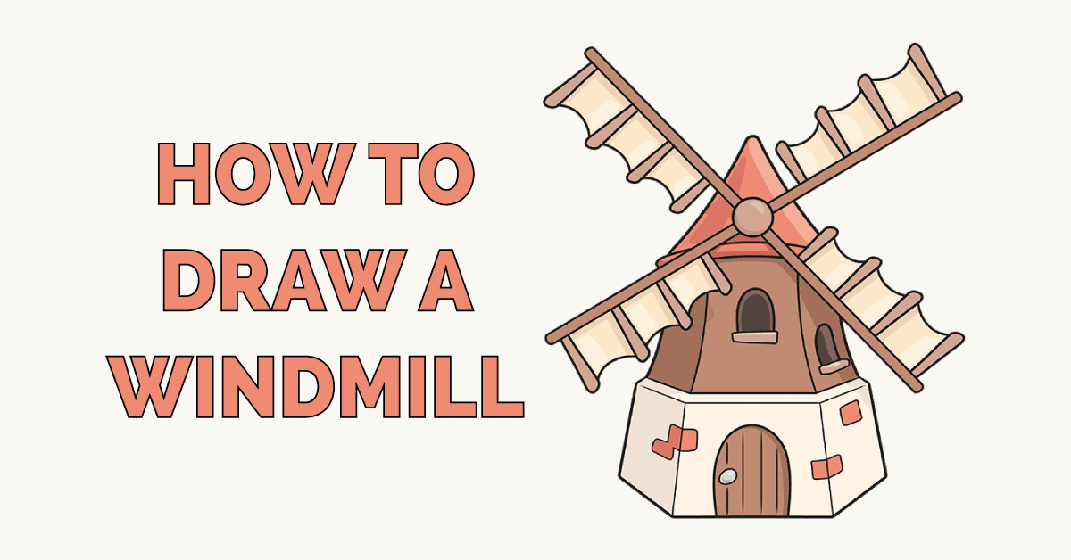 How to Draw a Windmill Featured Image