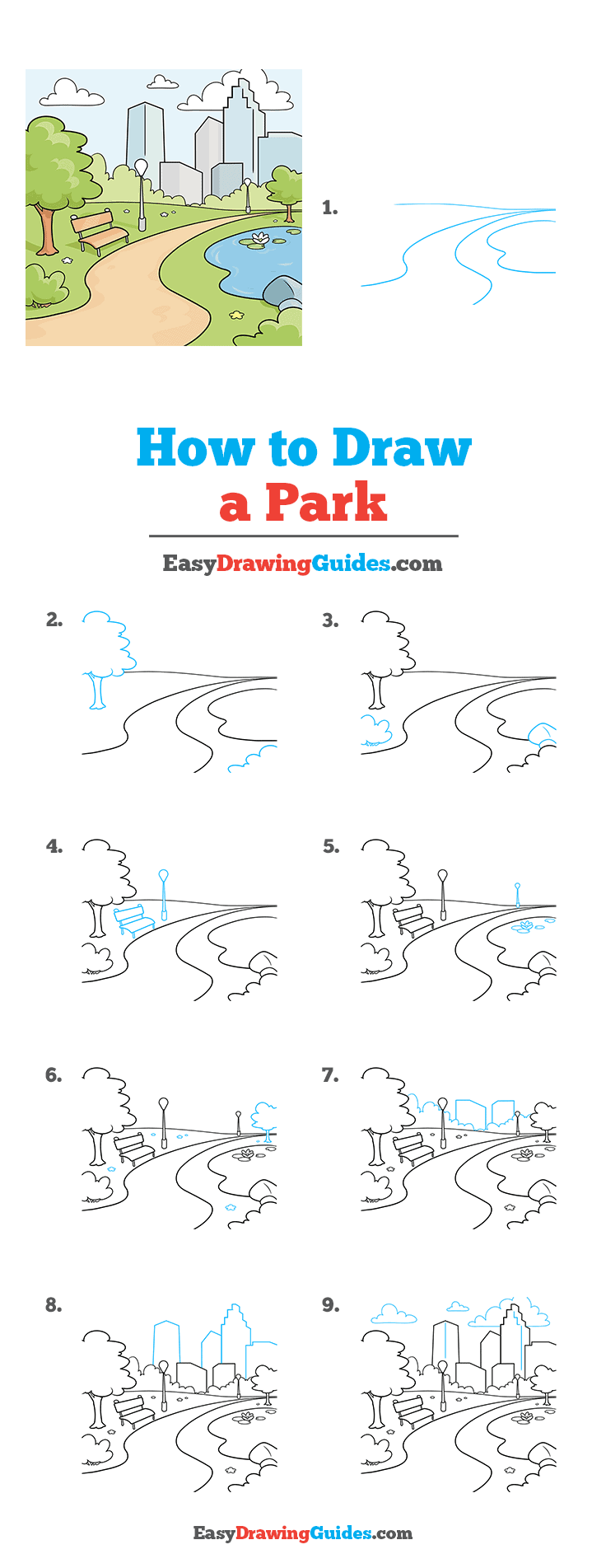 How to Draw Park