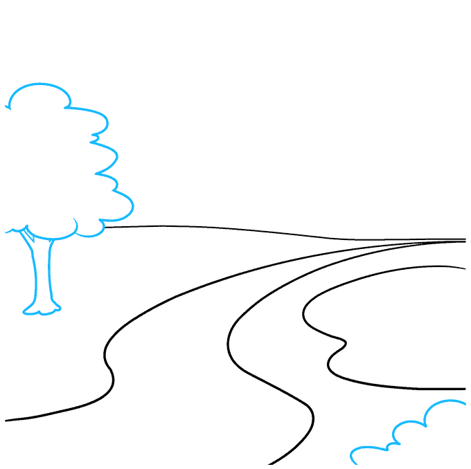 How to Draw Park: Step 2