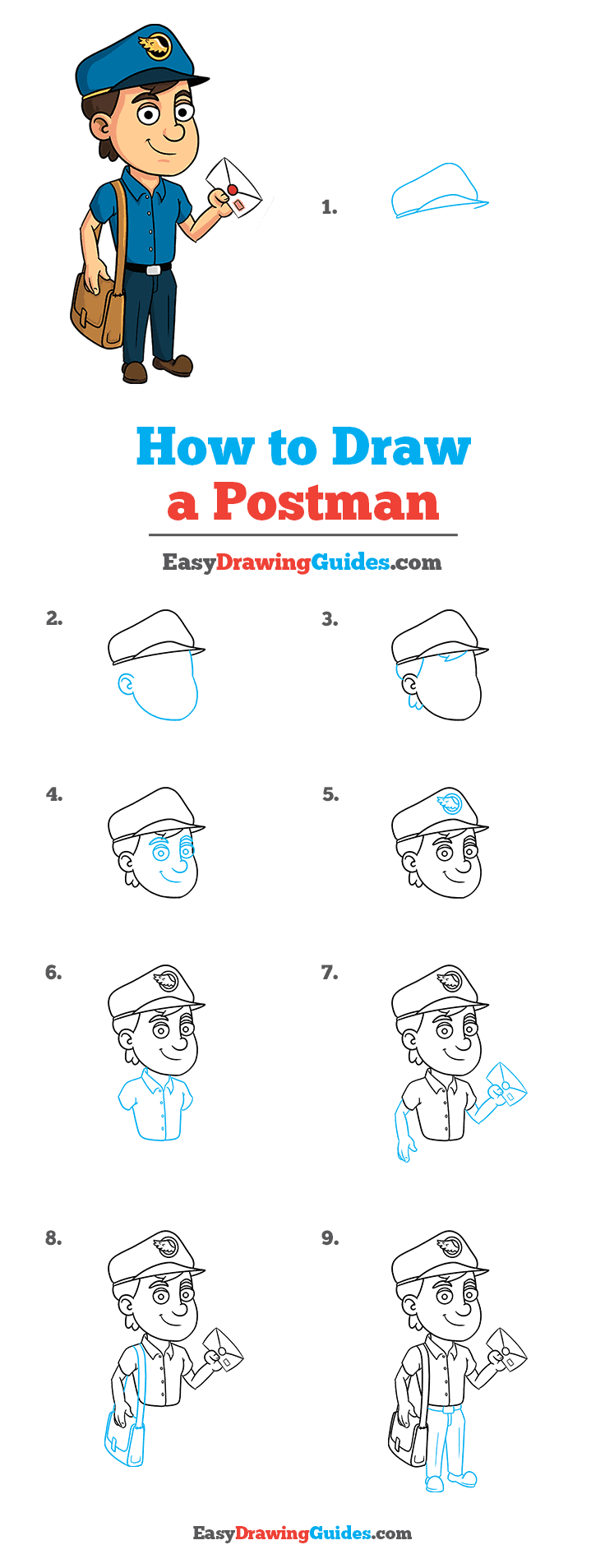 How to Draw Postman