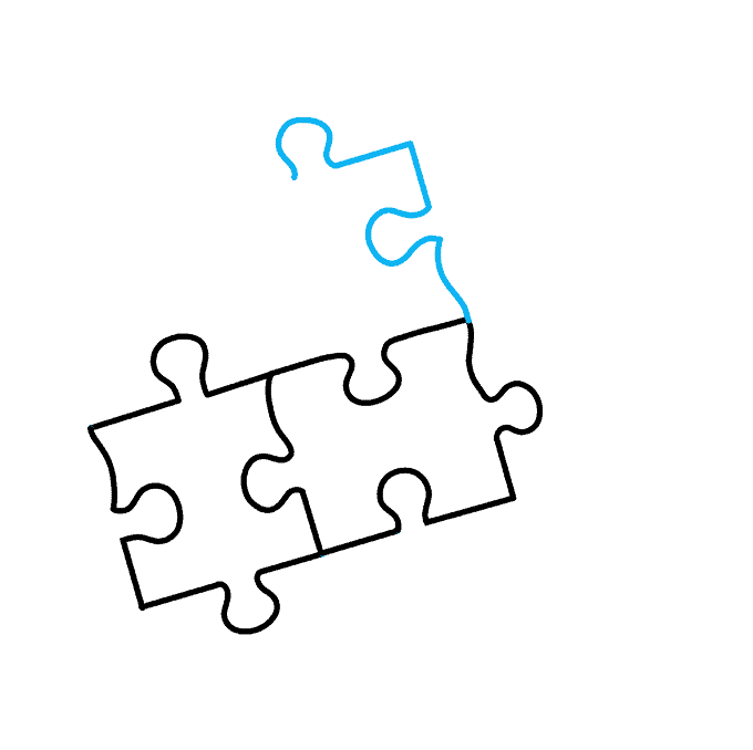 How to Draw Puzzle: Step 5