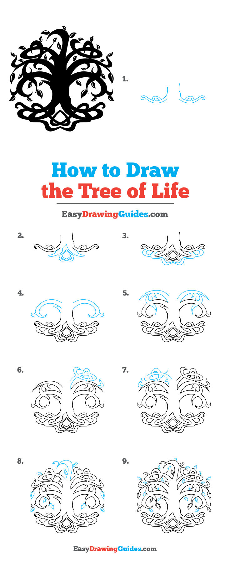 How to Draw Tree of Life