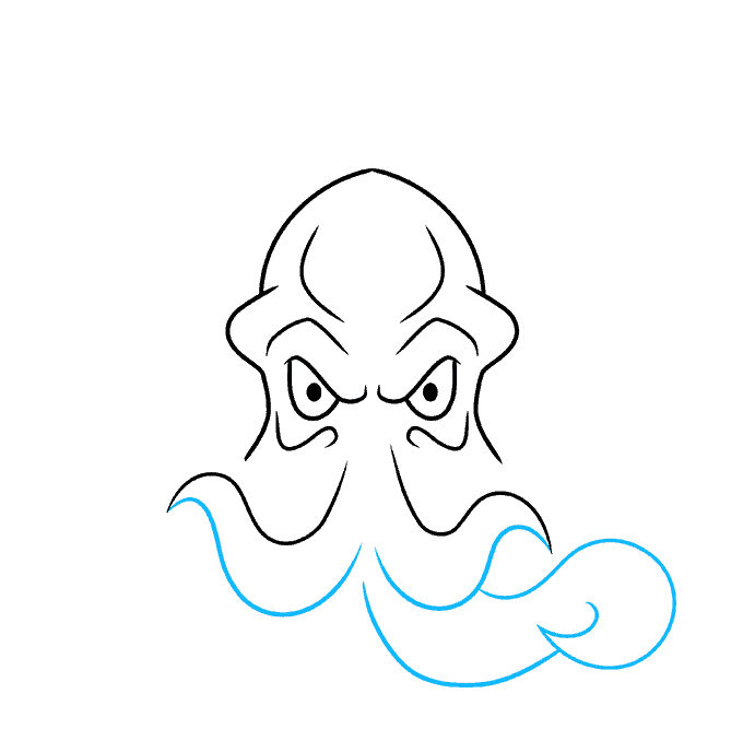 How to Draw Cthulhu Step 04