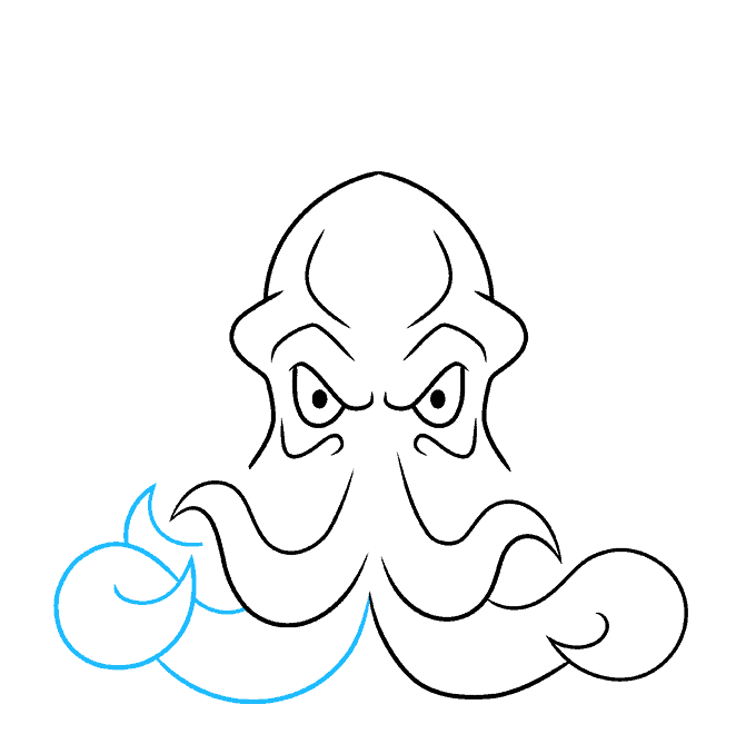 How to Draw Cthulhu Step 05