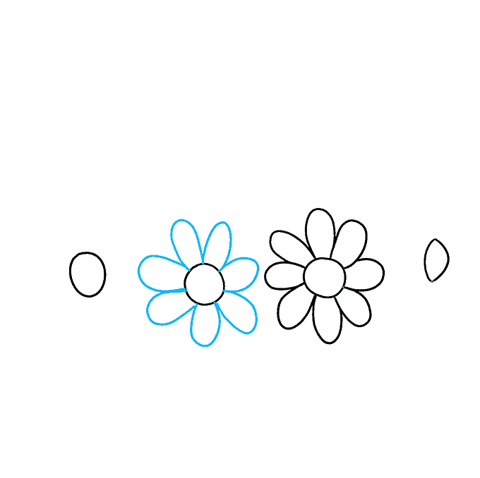 How to Draw a Flower Crown Step 03