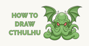 How to Draw Cthulhu Featured Image