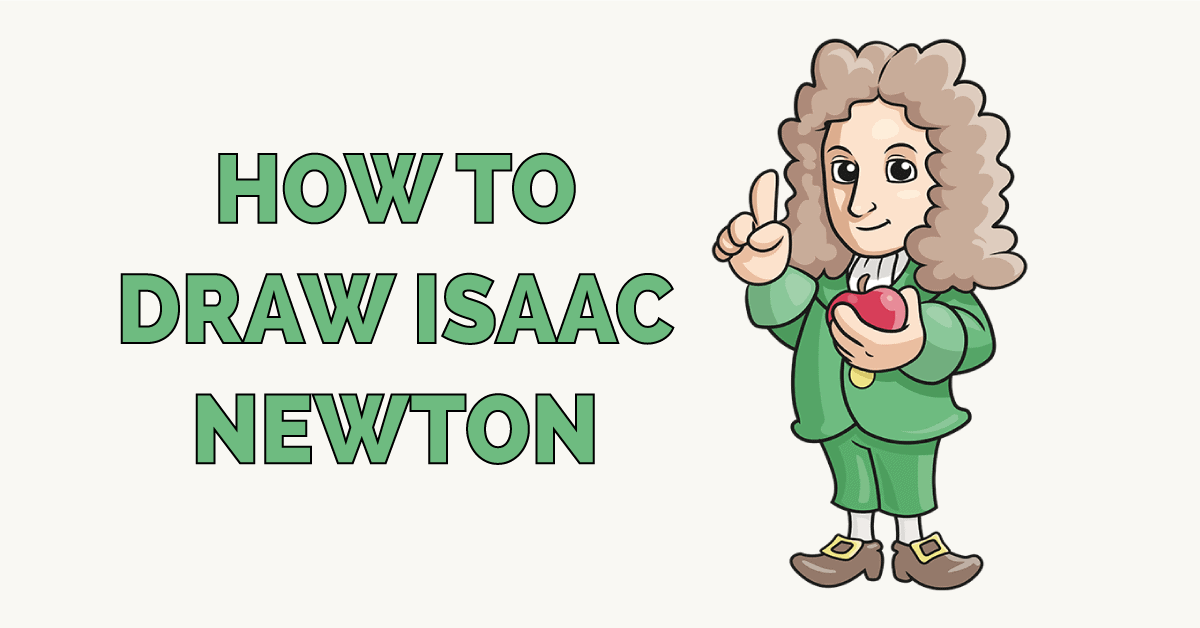 How to Draw Isaac Newton Featured Image