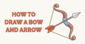 How to Draw a Bow and Arrow Featured Image