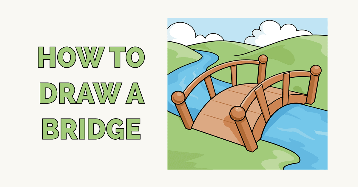 How to Draw a Bridge Featured Image