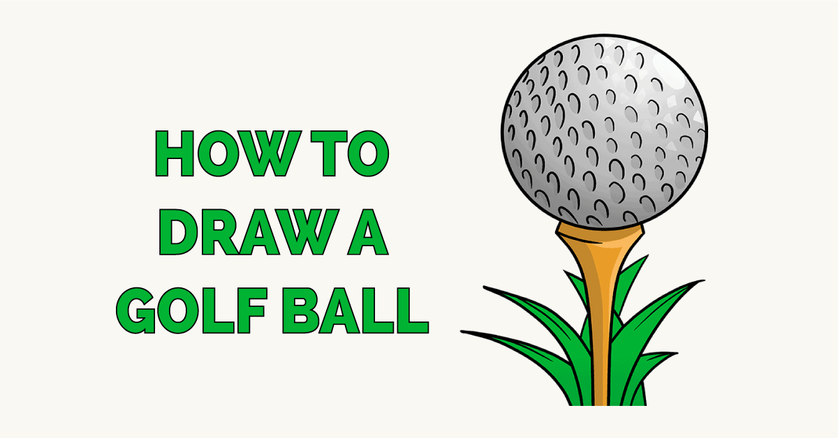 How to Draw a Golf Ball Featured Image