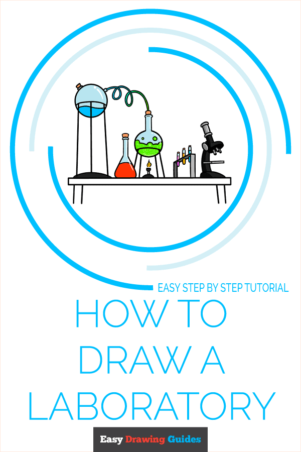 How to Draw a Laboratory Pinterest Image