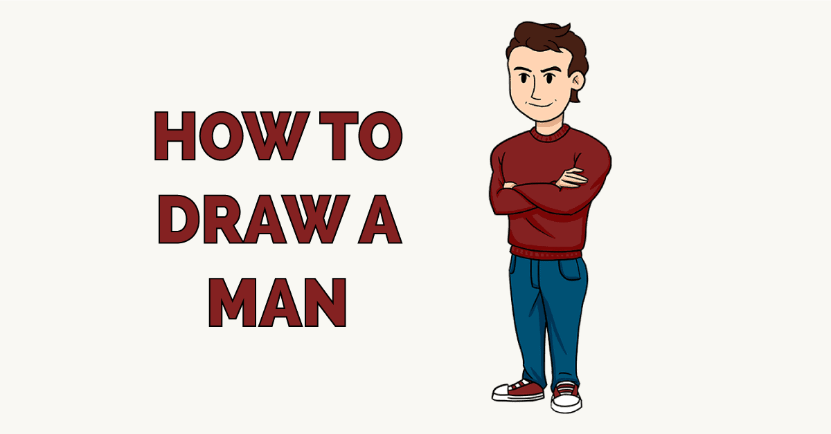 How to Draw a Man Featured Image