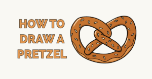 How to Draw a Pretzel Featured Image