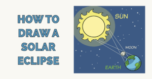How to Draw a Solar Eclipse Featured Image
