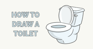 How to Draw a Toilet Featured Image