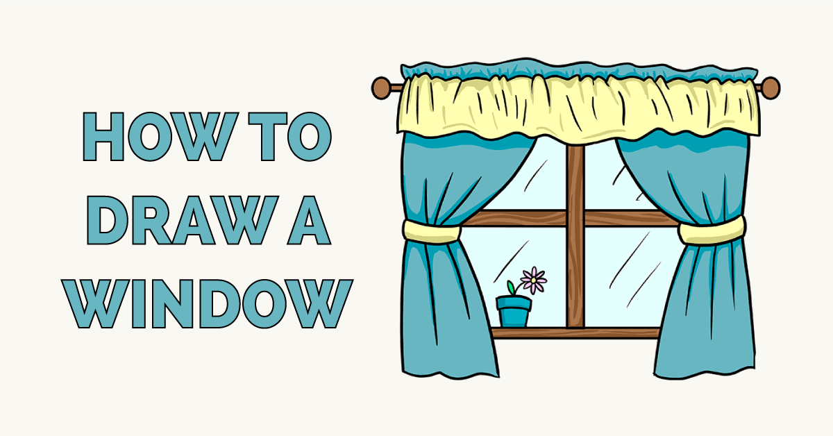 How to Draw a Window Featured Image