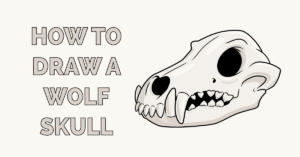 How to Draw a Wolf Skull Featured Image