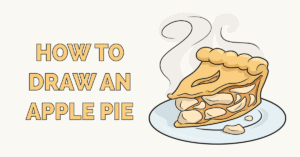 How to Draw an Apple Pie Featured Image