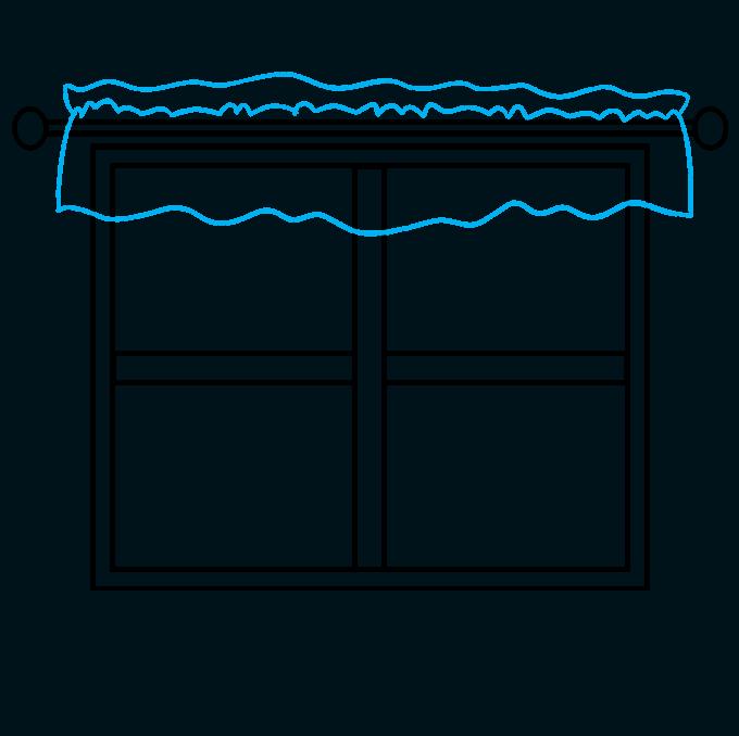 How to Draw a Window Step 04